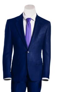 Prince Navi blau Anzüge 10